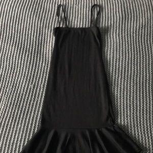 nastygal little black dress